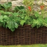 Natural Willow Groente & Tomaten Planter - Burgon en Ball