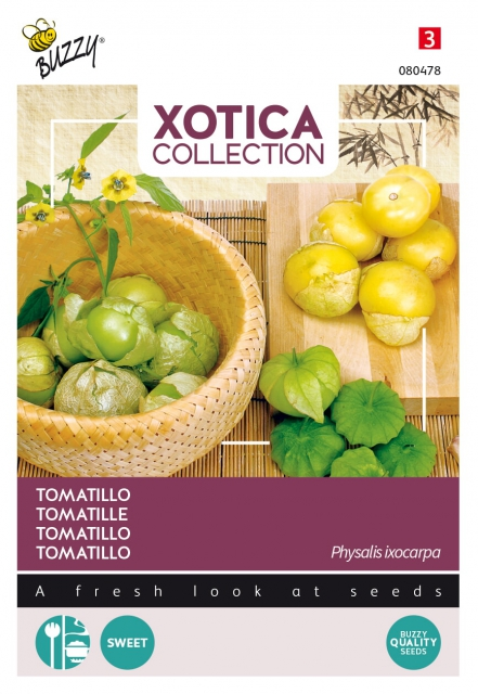 Tomatillo / Mexicaanse aardkers - Xotica Collection