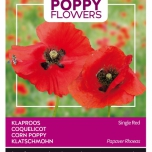 Poppies of the world - Klaproos Rhoeas Rood